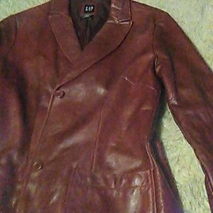 Christmas leather jacket